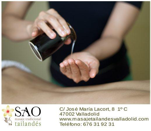 Sao masajes Valladolid