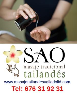 Tratamientos en Sao masajes Valladolid